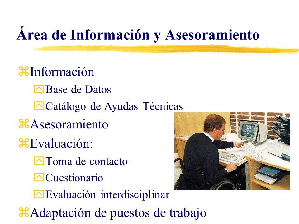 Área de Información y Asesoramiento