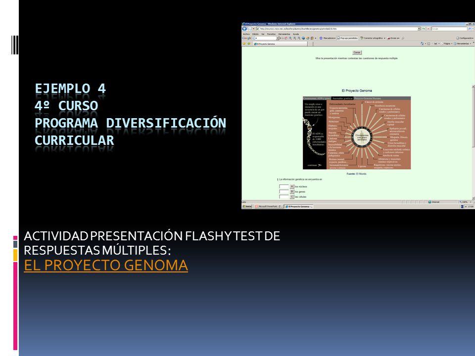 ejemplo 4 4º CURSO PROGRAMA DIVERSIFICACIÓN CURRICULAR