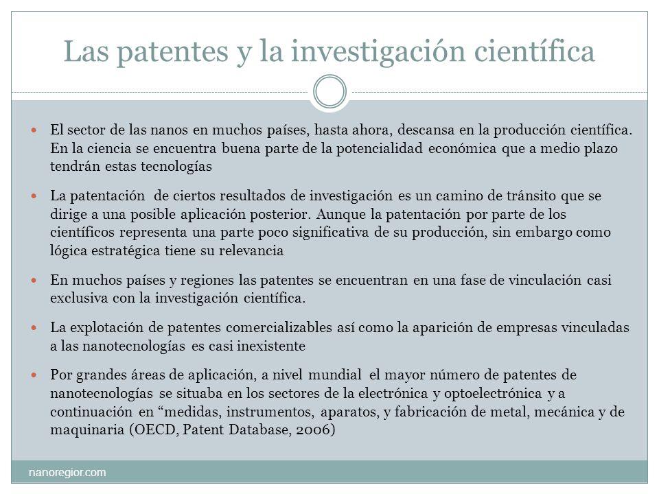 Las patentes y la investigación científica