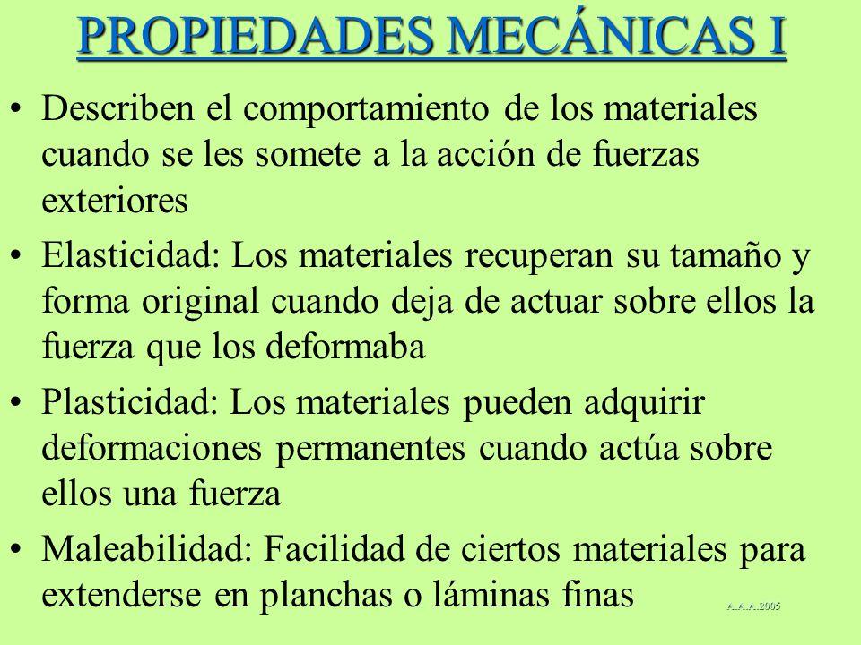 PROPIEDADES MECÁNICAS I