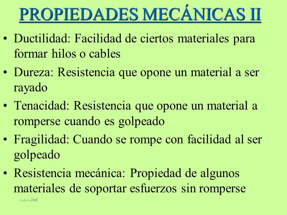 PROPIEDADES MECÁNICAS II