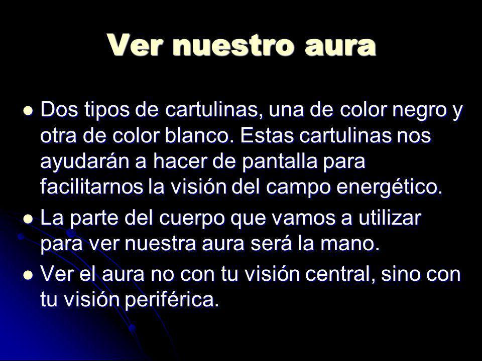 Ver nuestro aura