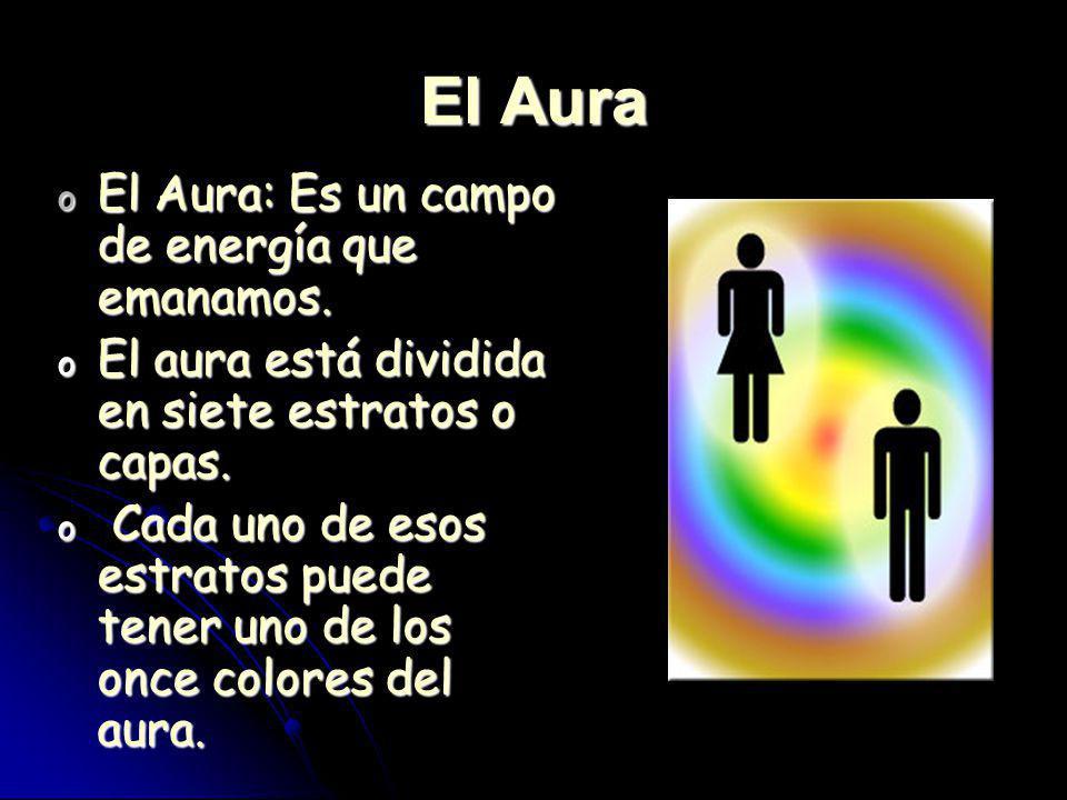 El Aura El Aura: Es un campo de energía que emanamos.