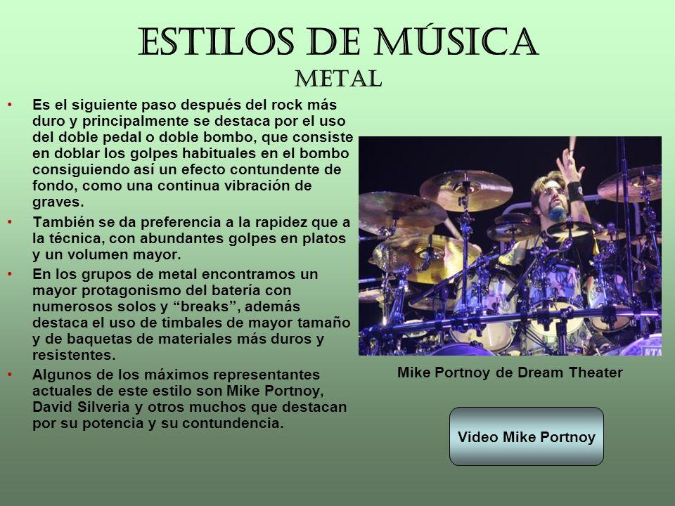 ESTILOS DE MÚSICA METAL