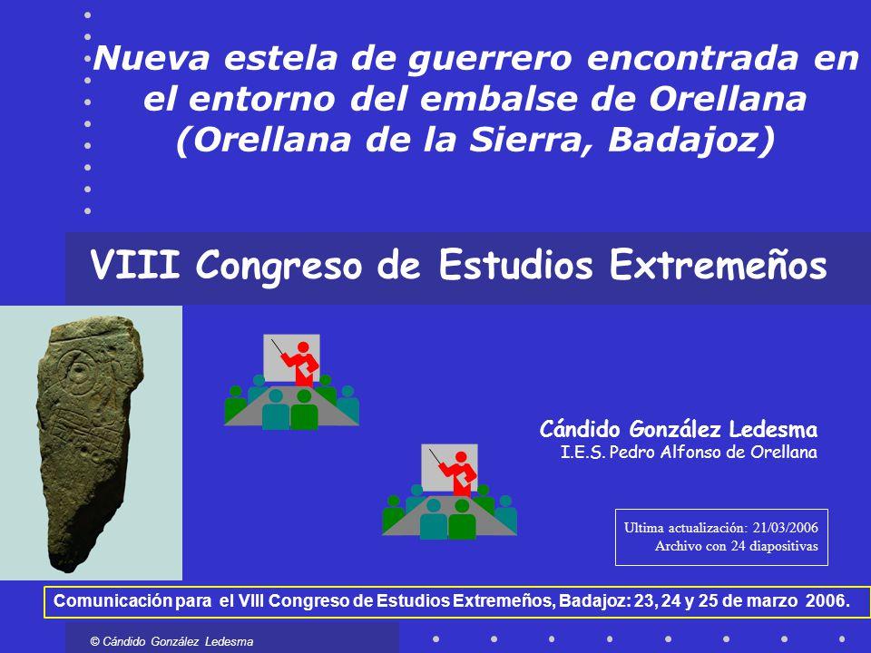 VIII Congreso de Estudios Extremeños