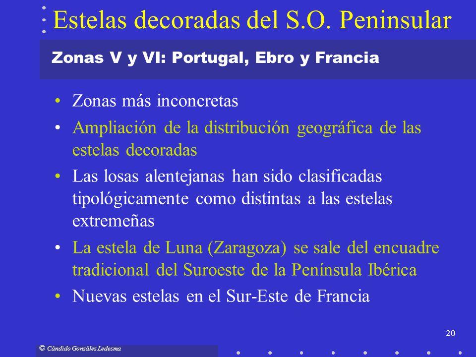 Zonas V y VI: Portugal, Ebro y Francia