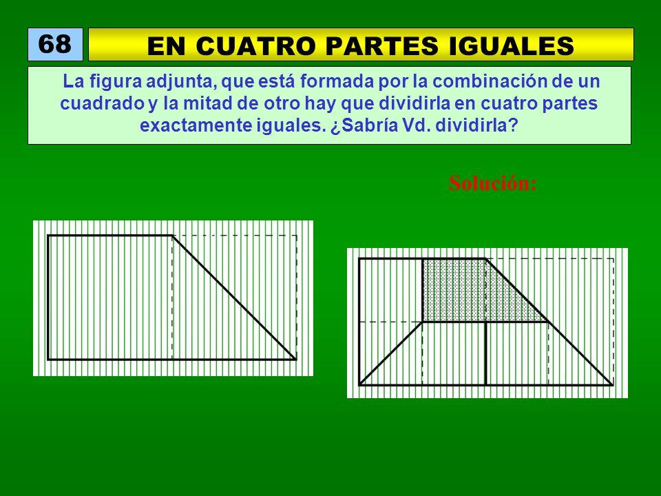 EN CUATRO PARTES IGUALES