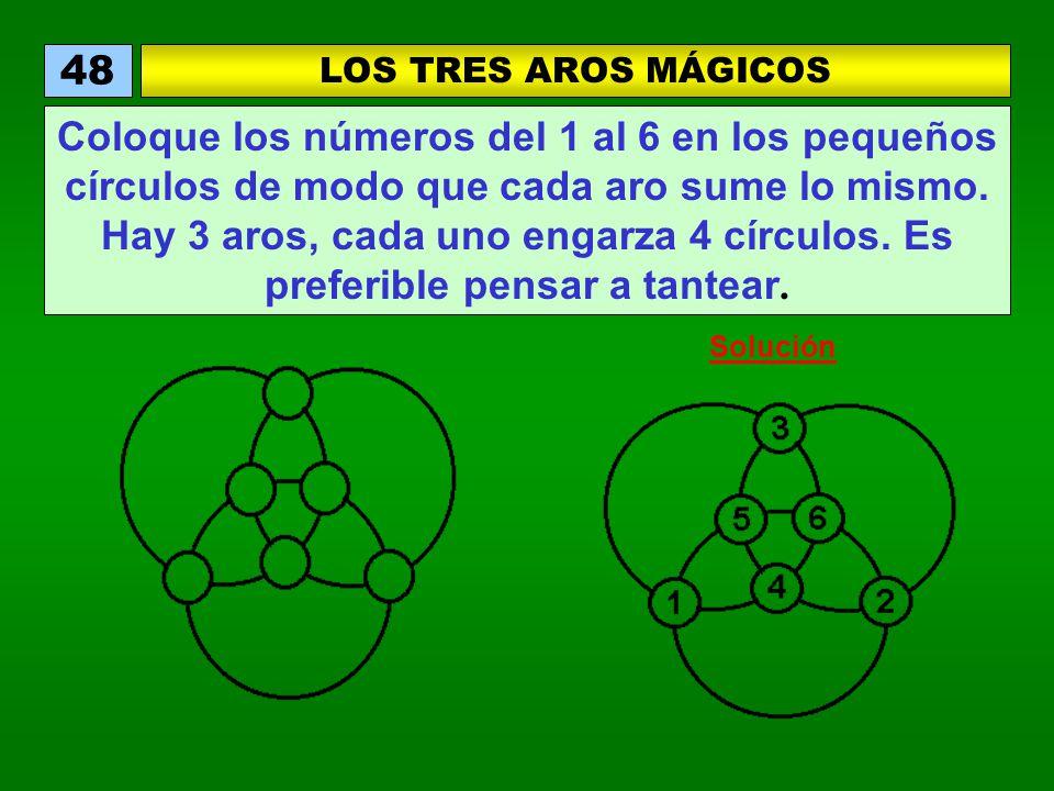 48 LOS TRES AROS MÁGICOS.