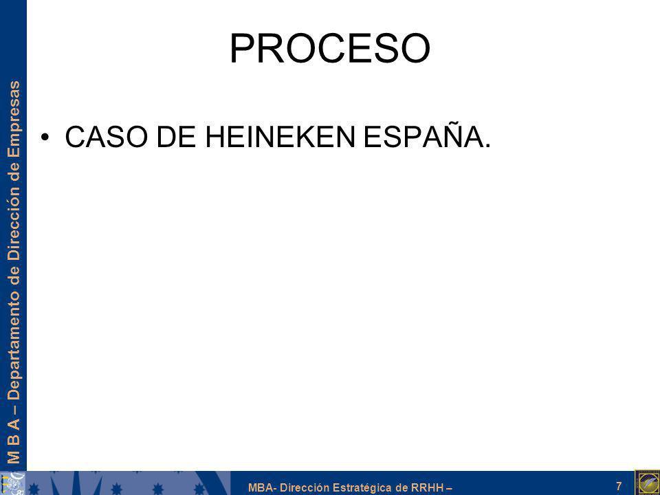 PROCESO CASO DE HEINEKEN ESPAÑA.
