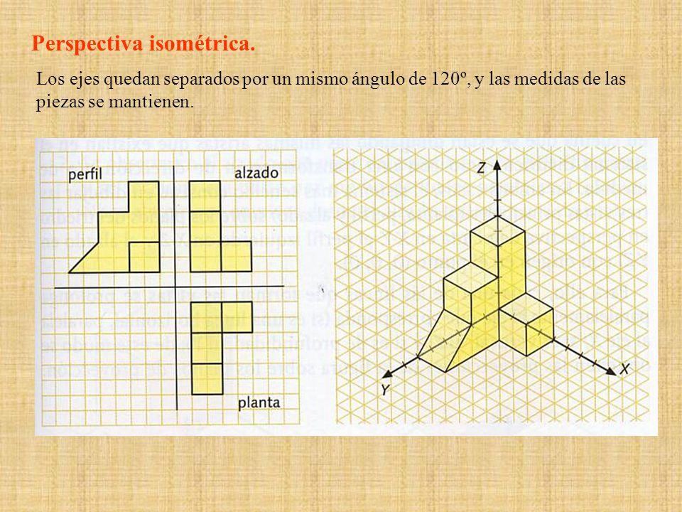Perspectiva isométrica.