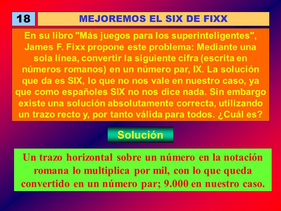 MEJOREMOS EL SIX DE FIXX