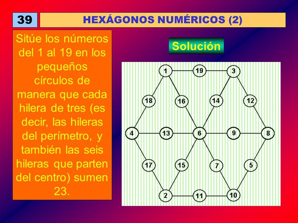 HEXÁGONOS NUMÉRICOS (2)
