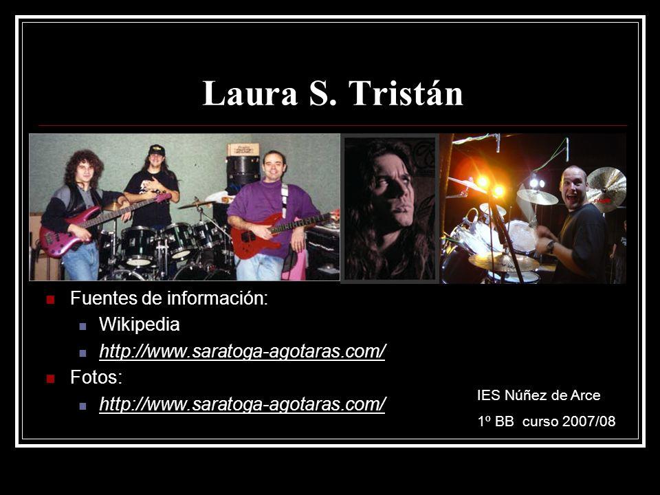 Laura S. Tristán Fuentes de información: Wikipedia