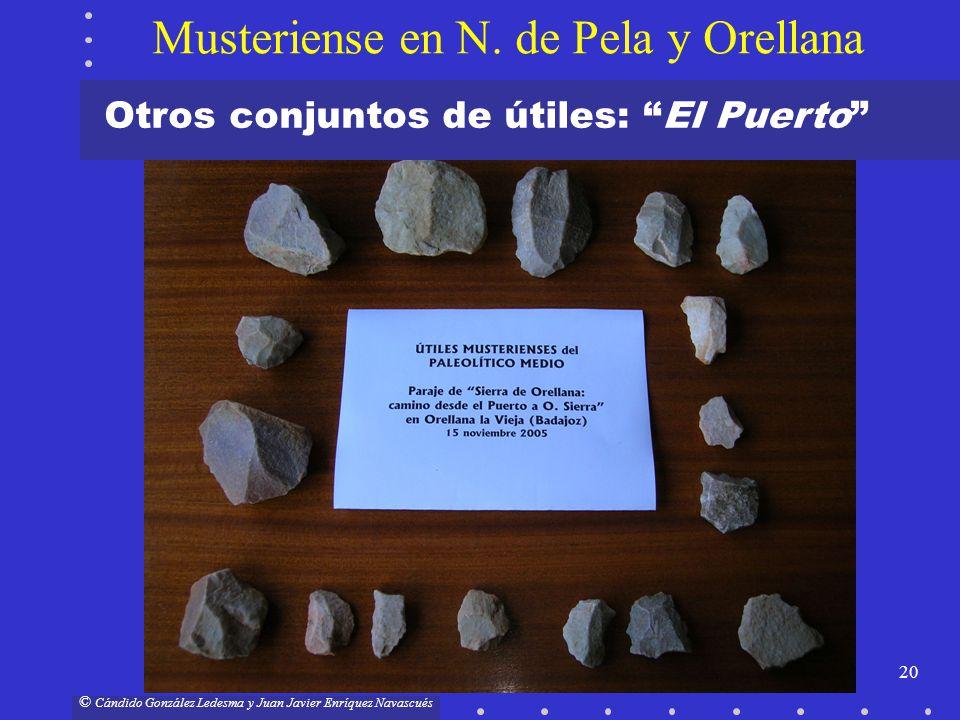 Musteriense en N. de Pela y Orellana