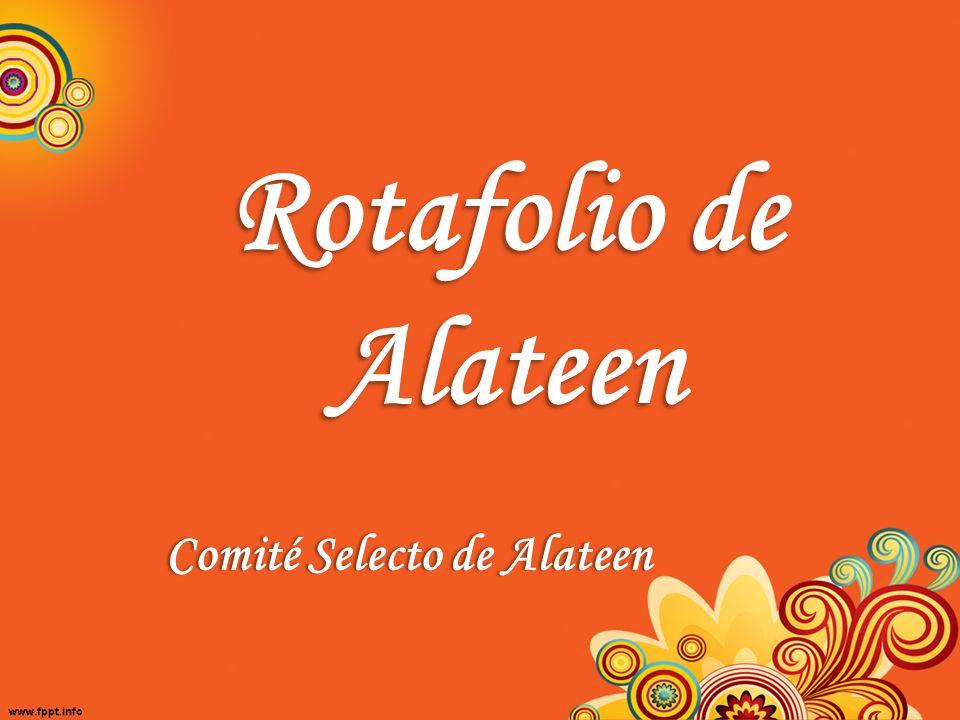 Rotafolio de Alateen Comité Selecto de Alateen
