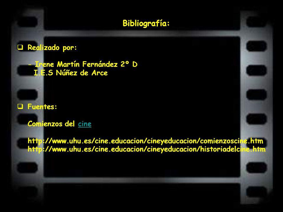 Bibliografía: Realizado por: - Irene Martín Fernández 2º D