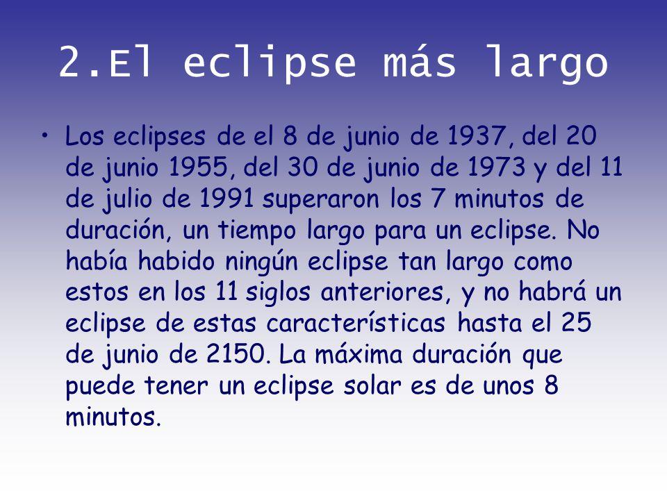 2.El eclipse más largo
