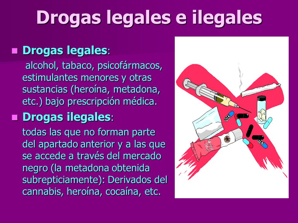 las drogas ppt video online descargar