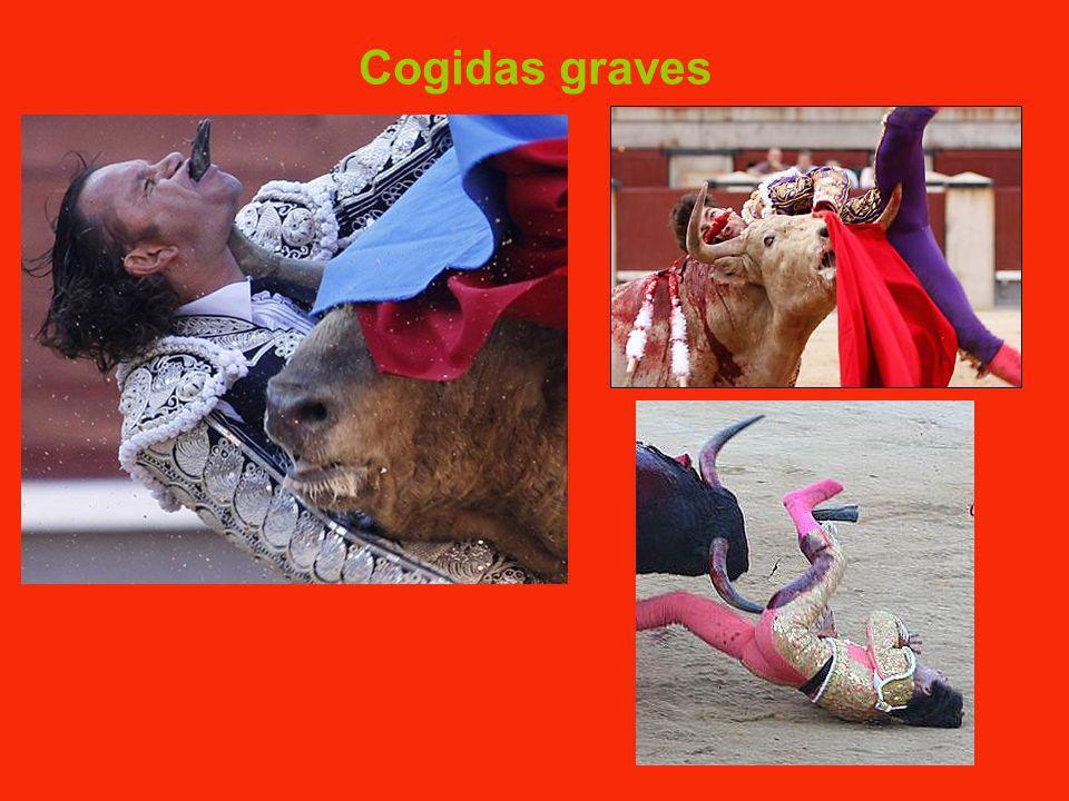 Cogidas graves