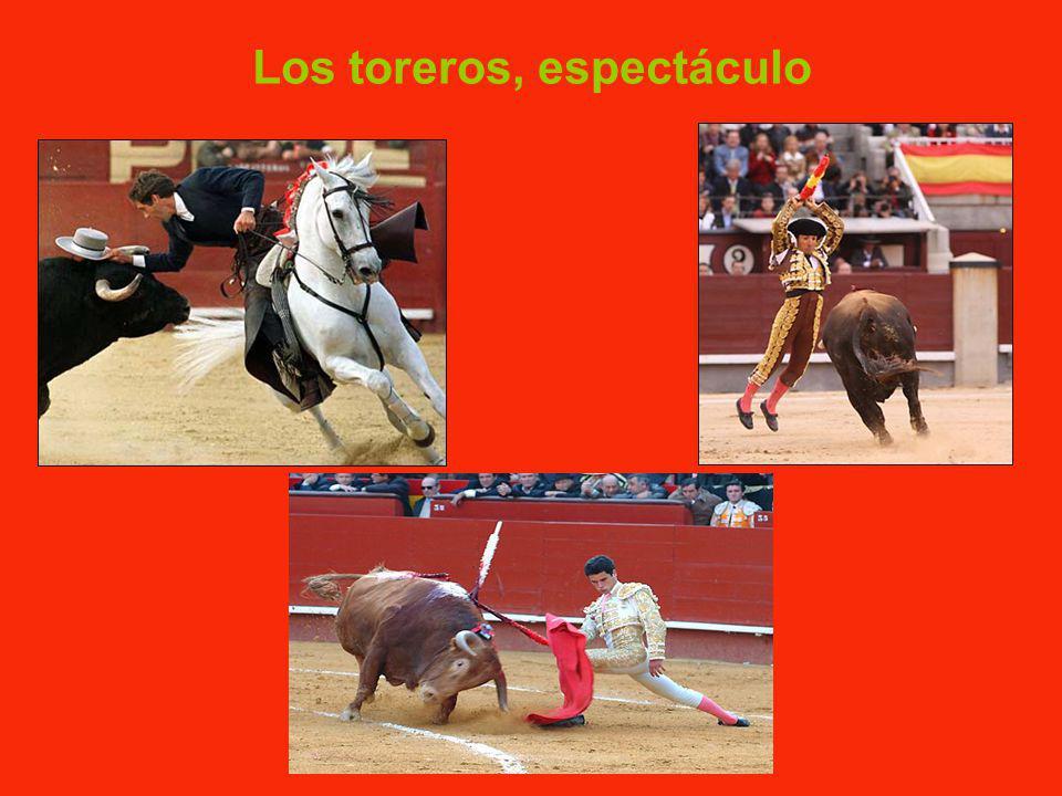 Los toreros, espectáculo