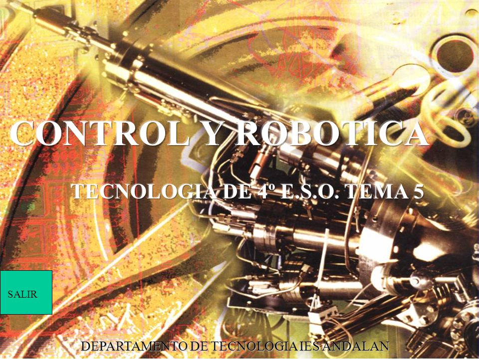 TECNOLOGIA DE 4º E.S.O. TEMA 5