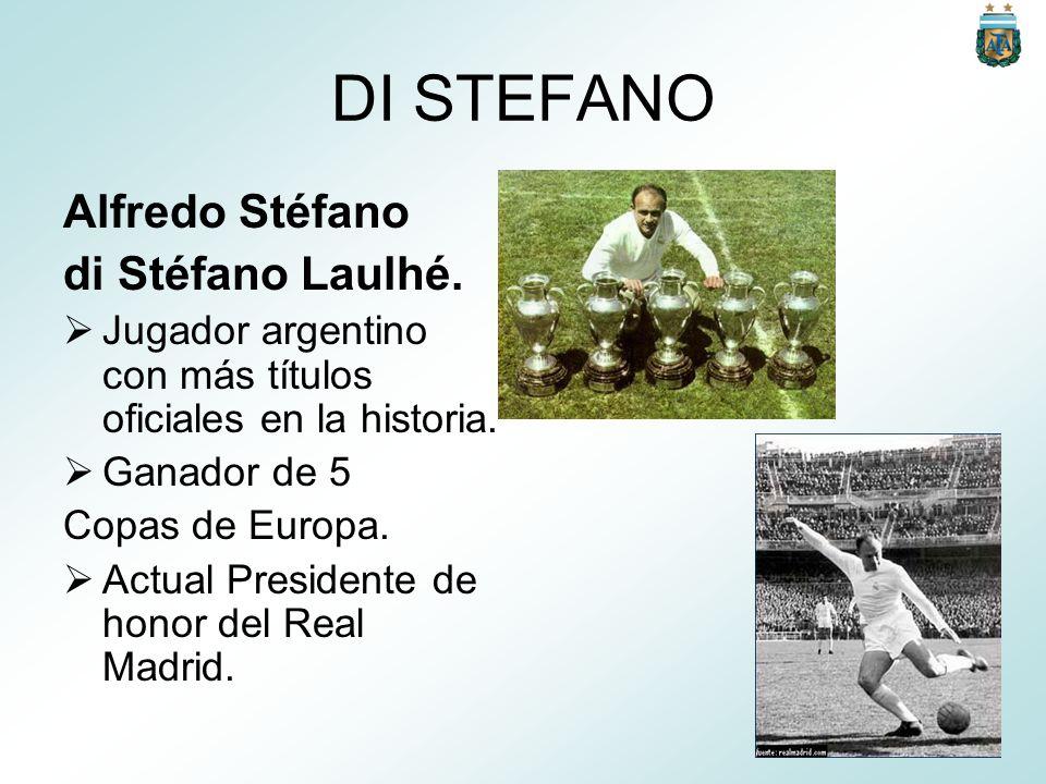 DI STEFANO Alfredo Stéfano di Stéfano Laulhé.