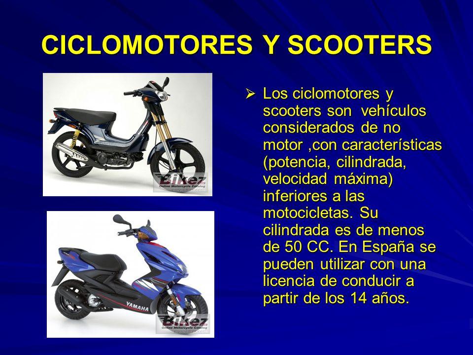 CICLOMOTORES Y SCOOTERS