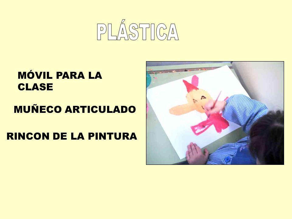 PLÁSTICA MÓVIL PARA LA CLASE MUÑECO ARTICULADO RINCON DE LA PINTURA