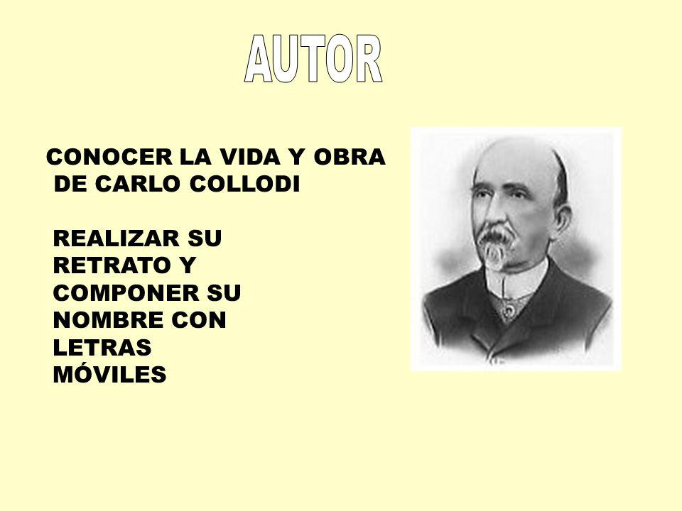 AUTOR CONOCER LA VIDA Y OBRA DE CARLO COLLODI