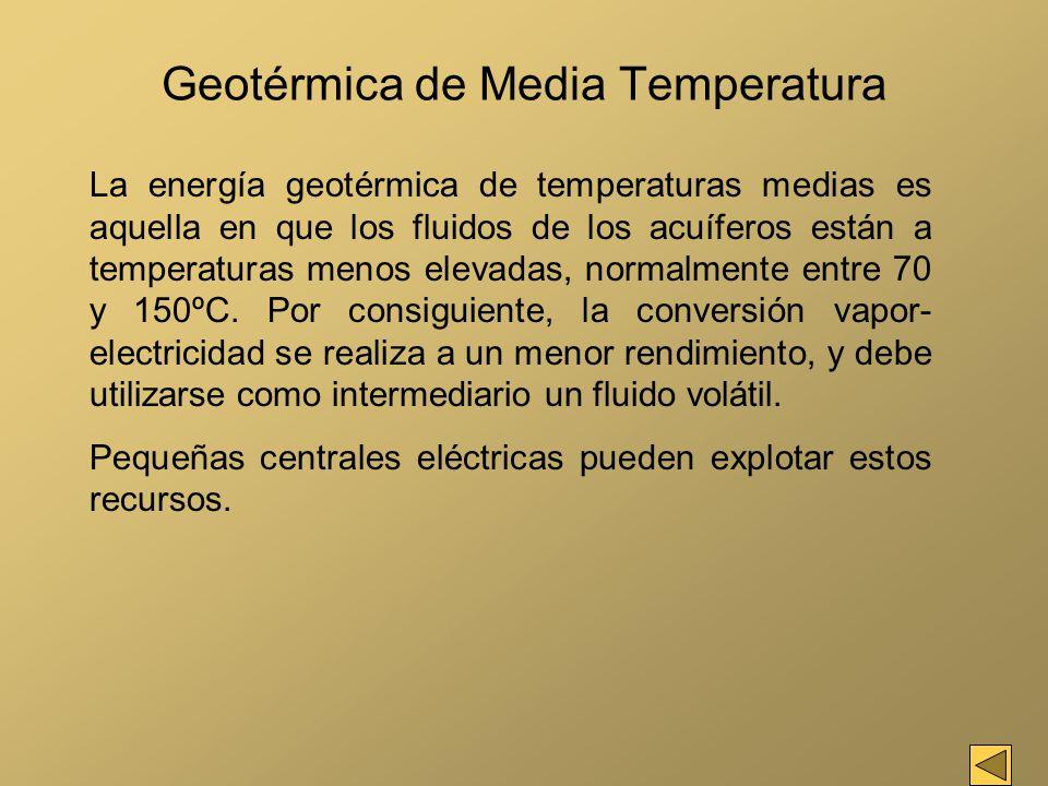 Geotérmica de Media Temperatura