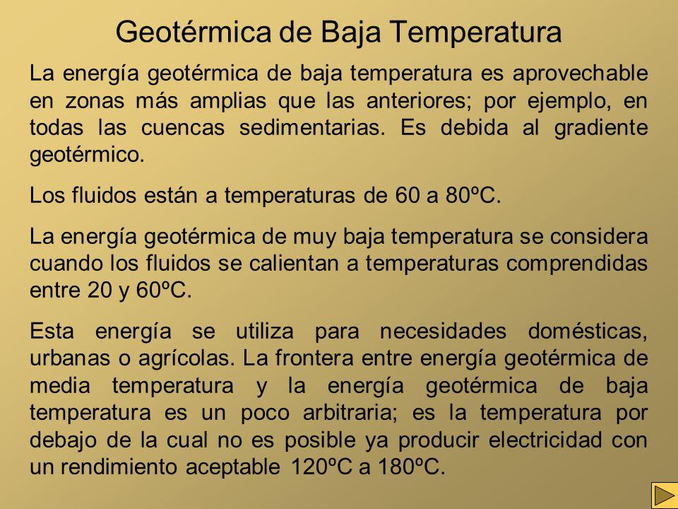 Geotérmica de Baja Temperatura