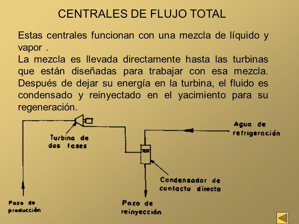 CENTRALES DE FLUJO TOTAL