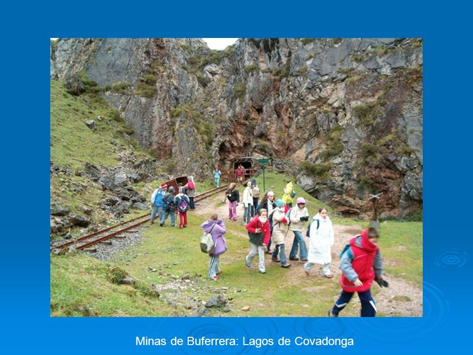 Minas de Buferrera: Lagos de Covadonga