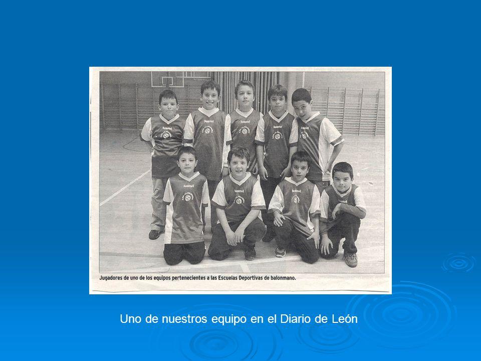 Uno de nuestros equipo en el Diario de León