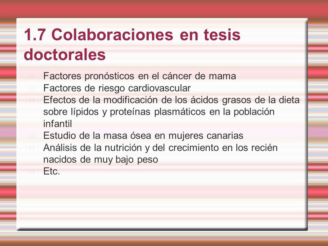 1.7 Colaboraciones en tesis doctorales
