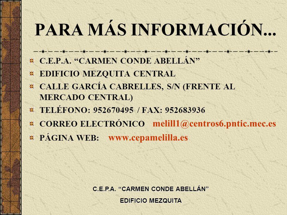C.E.P.A. CARMEN CONDE ABELLÁN