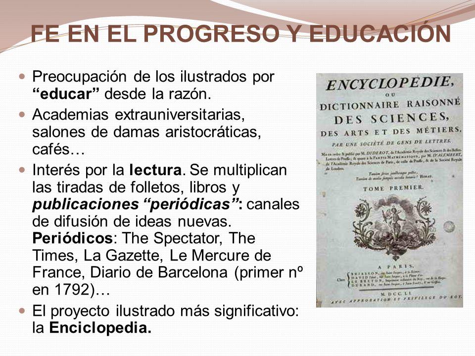 FE EN EL PROGRESO Y EDUCACIÓN