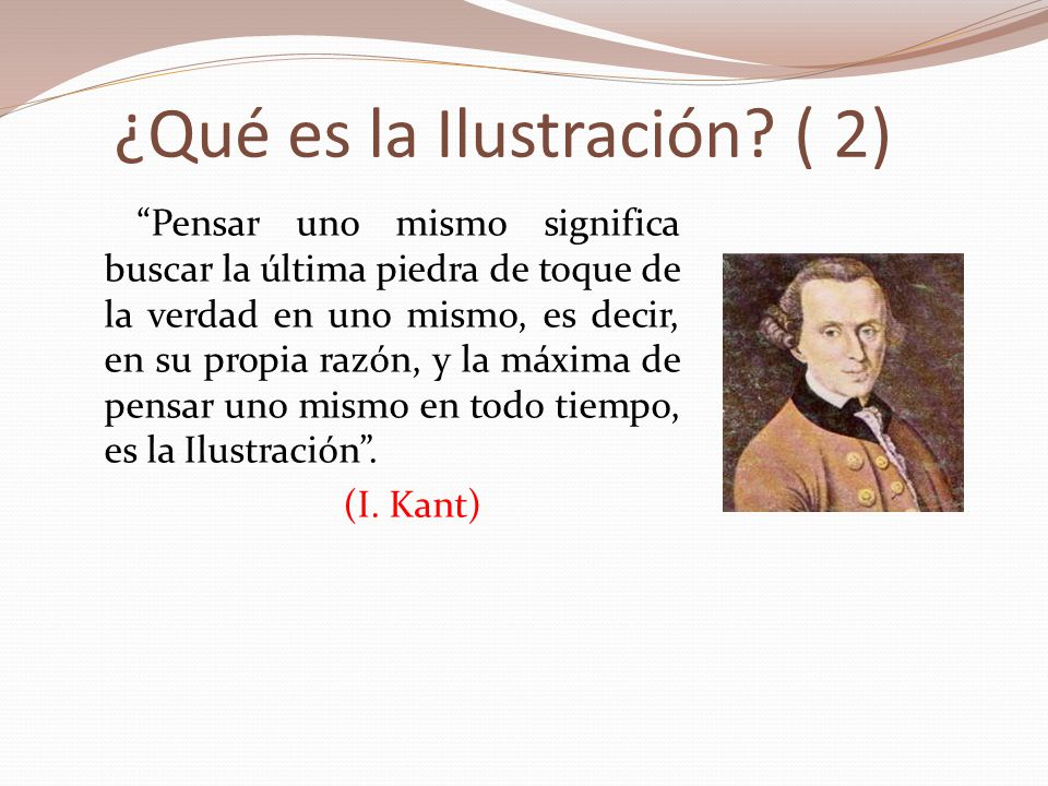 ¿Qué es la Ilustración ( 2)