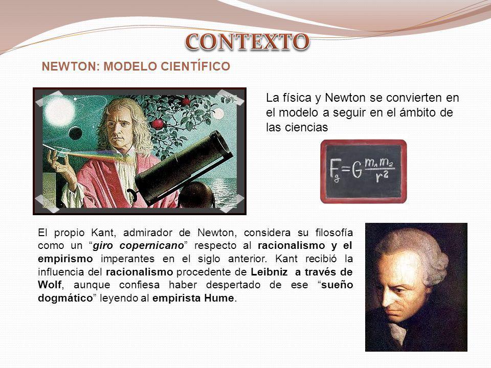 CONTEXTO NEWTON: MODELO CIENTÍFICO