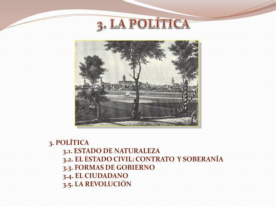 3. LA POLÍTICA