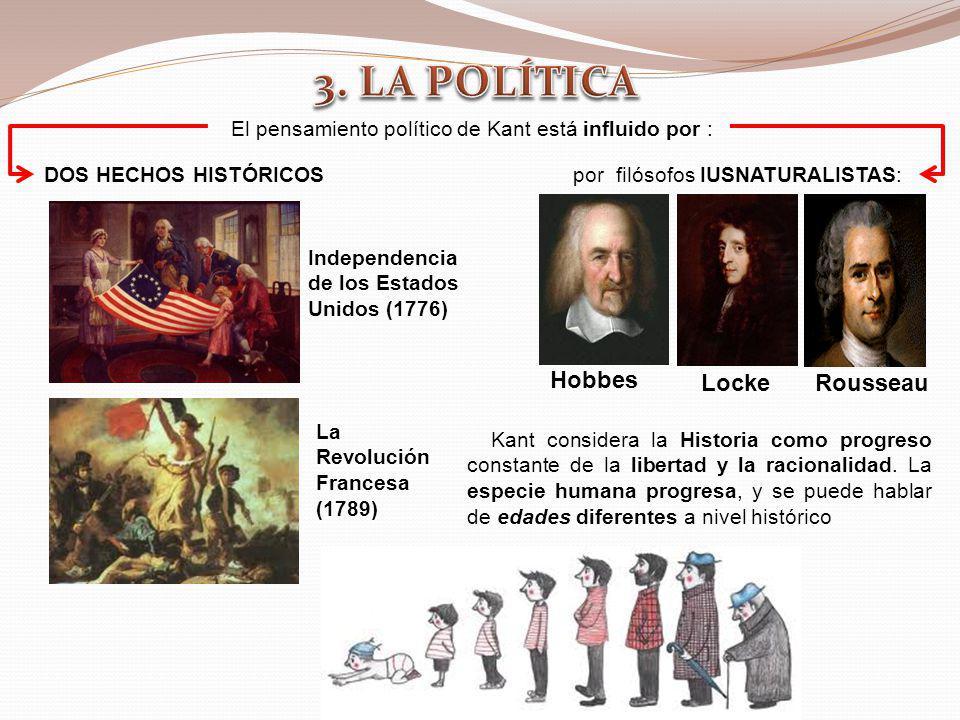 El pensamiento político de Kant está influido por :