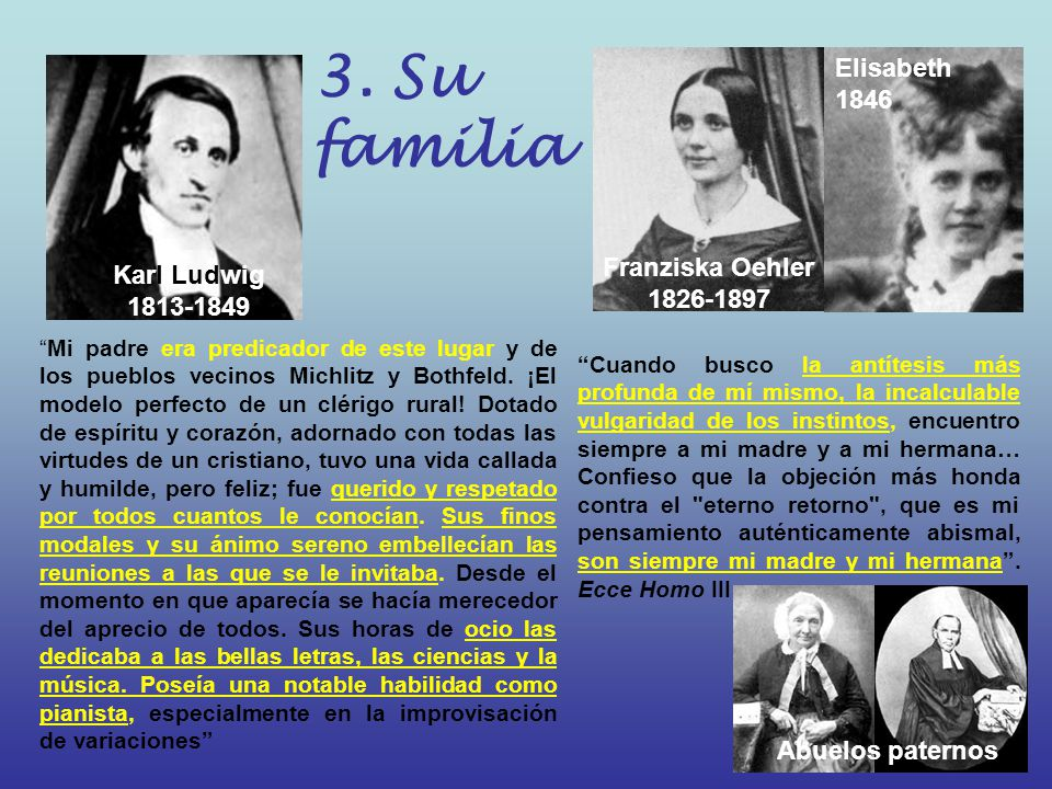 3. Su familia Elisabeth1846 Franziska Oehler 1826-1897