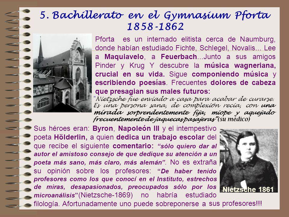 5. Bachillerato en el Gymnasium Pforta