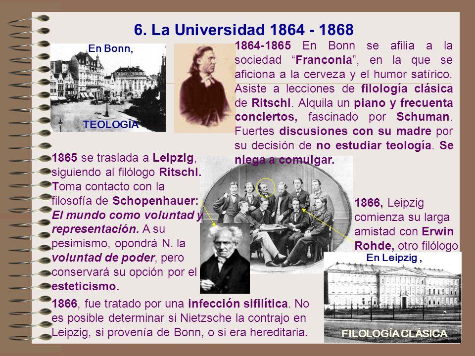 6. La Universidad 1864 - 1868