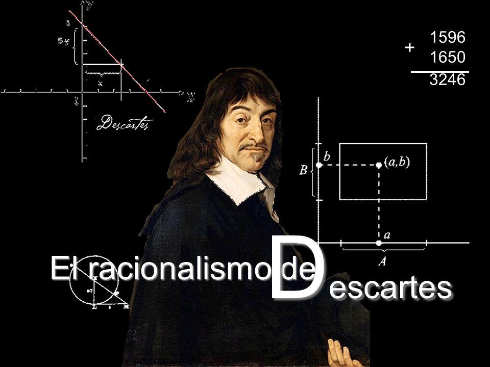 1596 1650 3246 + Descartes El racionalismo de