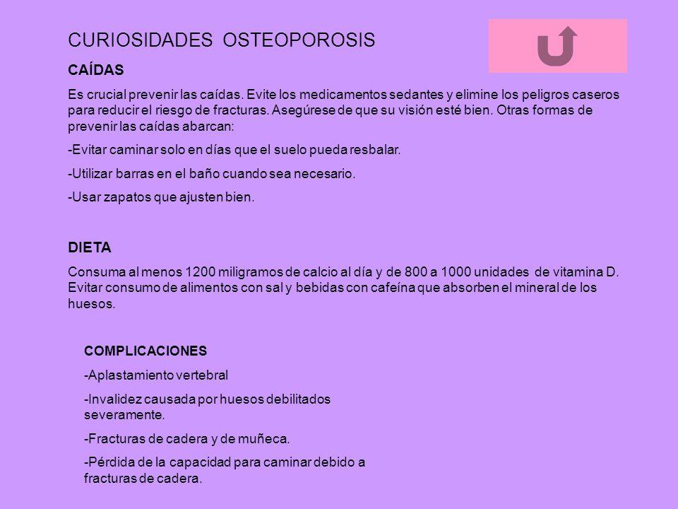 CURIOSIDADES OSTEOPOROSIS