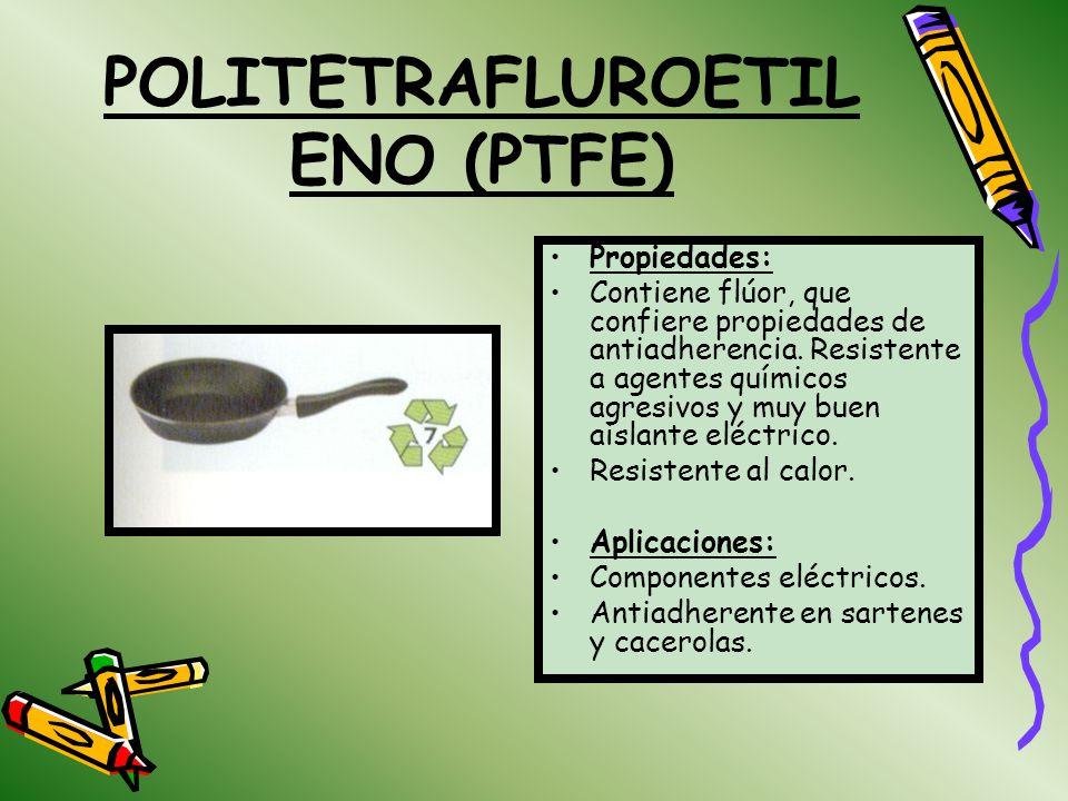 POLITETRAFLUROETILENO (PTFE)