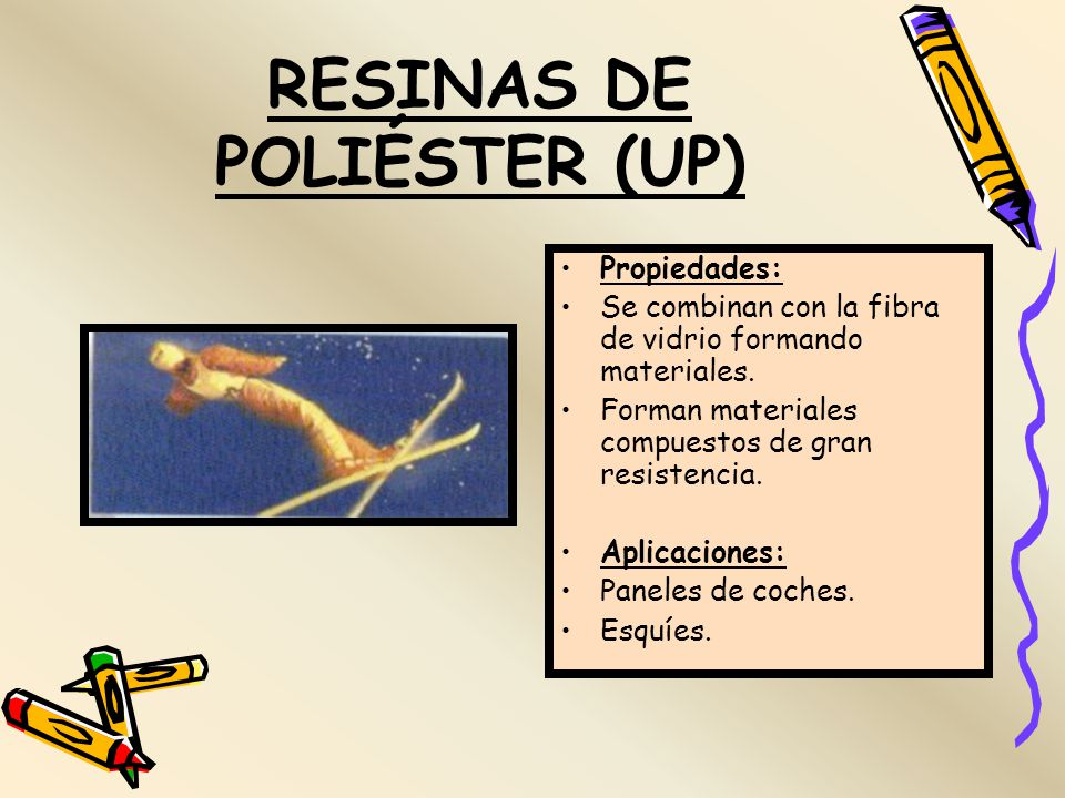 RESINAS DE POLIÉSTER (UP)