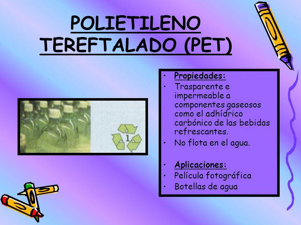POLIETILENO TEREFTALADO (PET)