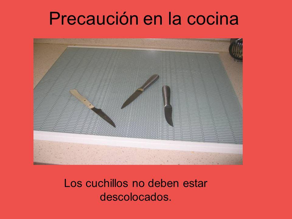 Precaución en la cocina